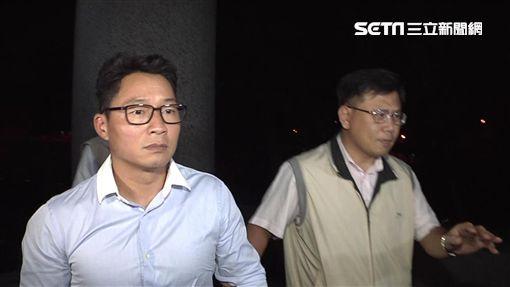 慶富總裁之子陳偉志(左)