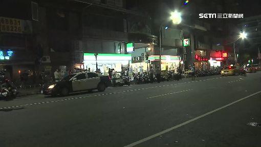鬧區上演警匪槍戰 歹徒挾持騎士奪車逃逸