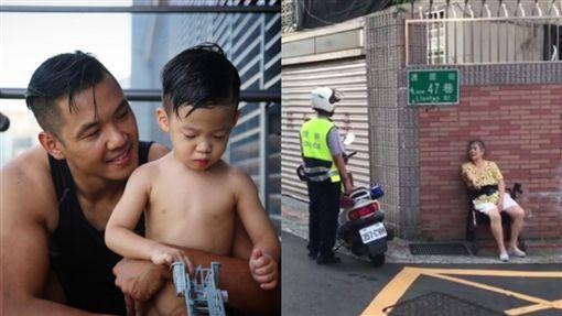 圖/翻攝自黑人IG 警察幫老奶奶