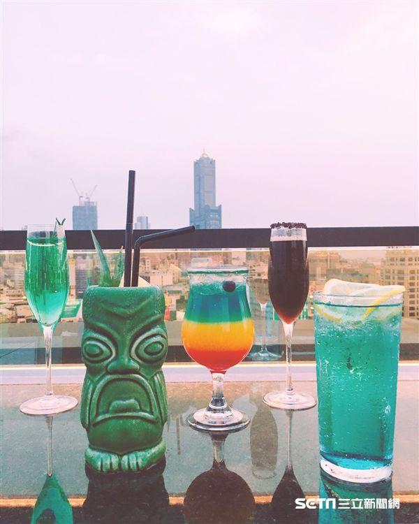 頂樓酒吧,Pier No.1(圖/高雄中央公園英迪格酒店提供)