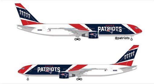 ▲新英格蘭愛國者購買的767S客機。(圖/翻攝自IG)