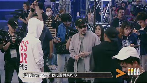 中國有嘻哈,熱狗,MC HotDog,張震嶽,導演,糖糖,本尊/愛奇藝