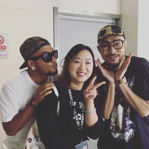 中國有嘻哈,熱狗,MC HotDog,張震嶽,導演,糖糖,本尊/張震嶽IG