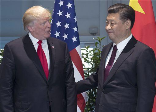 川普,習近平,北韓,美國,中國大陸圖/美聯社/達志影像
