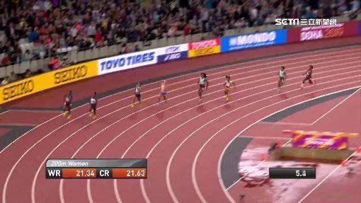 """肯亞女選手""""跑出賽道"""" 痛失世錦賽獎牌"""