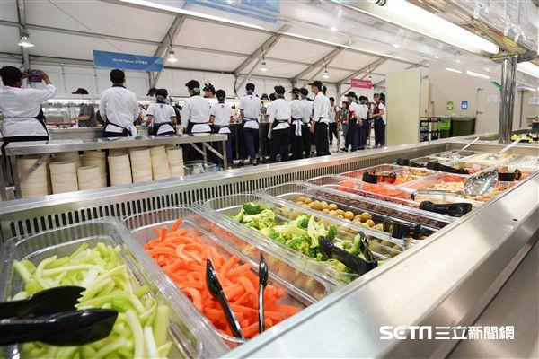 世大運選手村餐廳 圖/記者林敬旻攝