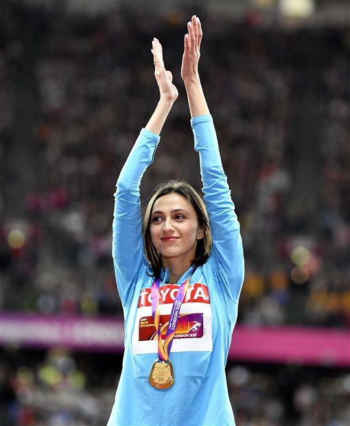 ▲Maria Lasitskene獲得金牌。(圖/美聯社/達志影像)
