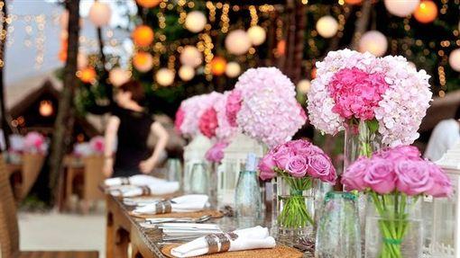 婚禮,派對,宴會 圖/Pixabay
