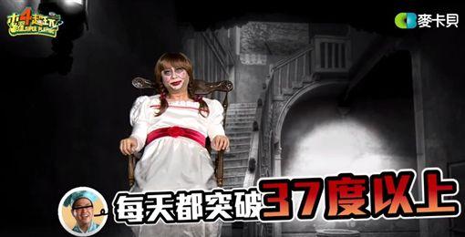 邰智源,安娜貝爾(圖/翻攝自木曜4超玩臉書)