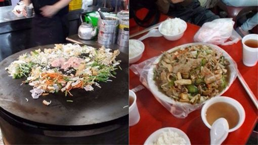 台灣,夜市,小吃,美食,蒙古烤肉 圖/翻攝自臉書爆廢公社