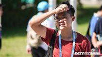 夏天,炎熱,大太陽,高溫,熱浪,紫外線 圖/記者林敬旻攝