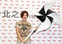 A-Lin專輯歌曲首播,首嘗試短髮造型顯得更年輕更有朝氣。(記者邱榮吉/攝影)