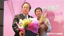 罹患晚期乳癌的51歲李小姐勇敢接受抗HER2標靶輔助藥物等治療後,病情穩定,3年來都無復發。(圖/記者楊晴雯攝)