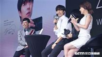 韓國男星孔劉來台出席智慧手機品牌代言記者會