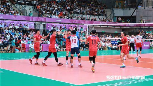 世大運排球台灣對日本。(圖/記者王怡翔攝) ID-1025368