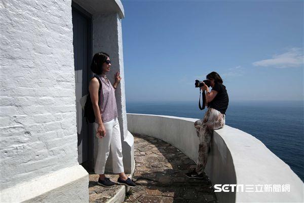 東引燈塔,東湧燈塔,馬祖東引島,台版希臘。(圖/記者簡佑庭攝) ID-1025566.jpg