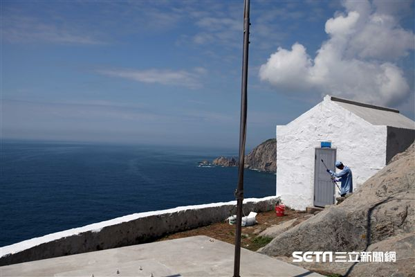 東引燈塔,東湧燈塔,馬祖東引島,台版希臘。(圖/記者簡佑庭攝) ID-1025573.jpg