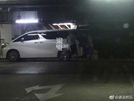 楊坤,搬家,/翻攝自新浪娛樂微博 ID-1042142