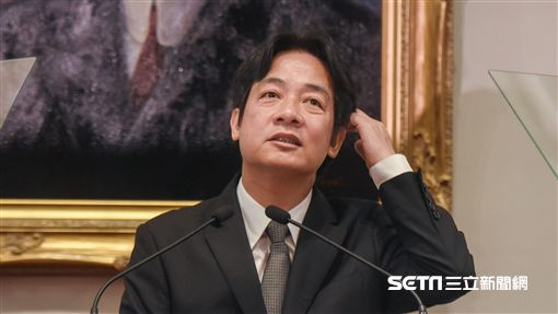 行政院長林全因為階段性任務完成提出辭呈,總統蔡英文5日親自舉行記者會,宣布新任行政院長由台南市長賴清德接任。  圖/記者林敬旻攝 ID-1044243