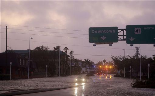 颶風,艾瑪,Irma,(圖/美聯社/達志影像)