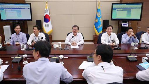 南韓總統府、青瓦台、文在寅/대한민국 청와대臉書