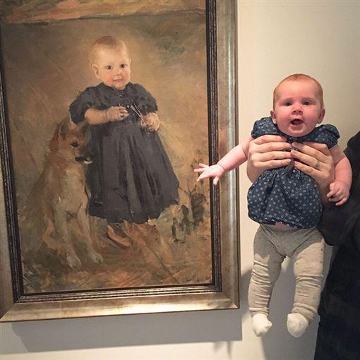 博物館,美術館,投胎轉世,雙胞胎,明星照,畫像(圖/翻攝自BoredPanda網站)https://www.boredpanda.com/museum-lookalikes-gallery-doppelgangers/?page_numb=3