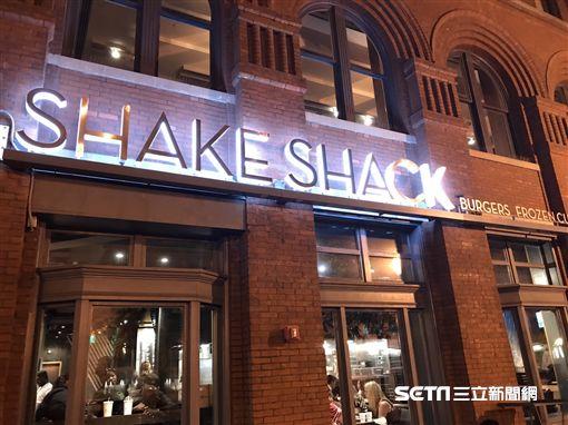 Shake Shack紐約漢堡。(圖/記者簡佑庭攝)