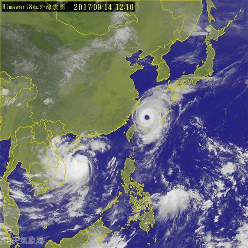 泰利颱風動態_氣象局