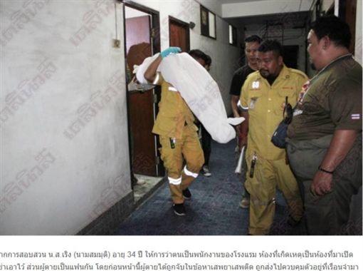 泰國,男子上吊,輕生,自殺(圖/翻攝自《Daily news》)