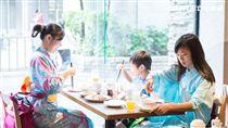 欣葉日本料理,吃到飽,浴衣午茶趴。(圖/欣葉提供)