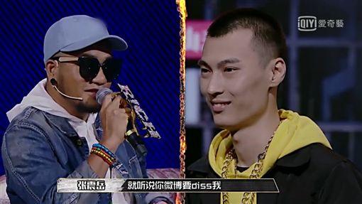 中國有嘻哈,張震嶽,熱狗,Mc Hotdog,Diss,兄弟本色/微博、臉書、愛奇藝