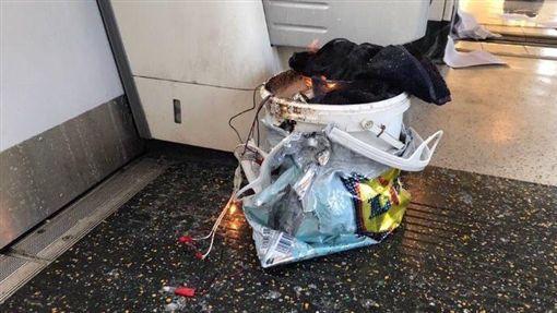 倫敦,地鐵,帕森綠地站,Parsons Green,爆炸(推特)