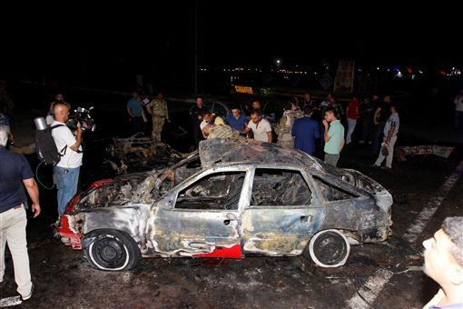 伊北大城基爾庫克汽車炸彈攻擊 3死9傷_路透社/達志影像