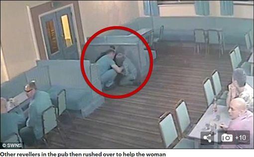 英國孕婦(Jessy Johnson)遭與37歲男友薩姆遜(Stuart Samson)踹,導致胎死腹中(圖/翻攝自每日郵報)