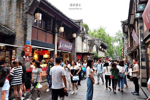 成都錦里古街 圖/文供稿:爆肝護士的玩樂記事