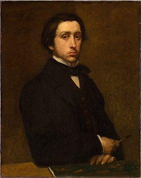法國藝術家 Edgar Degas 圖/翻攝自維基百科