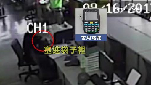 太歲爺頭上動土! 賊偷派出所警用電腦