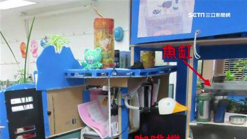 辦公桌,核二廠,清涼照,私人家電,上班,休閒物品,清泉崗空軍,休息室,裸照,辦公室