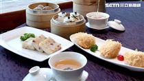 圓山金龍餐廳港式早茶。(圖/圓山大飯店提供)