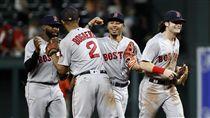 ▲波士頓紅襪連2天在延長賽11局贏球。(圖/美聯社/達志影像)