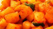 韓式蘿蔔糕泡菜(圖/翻攝自維基百科)