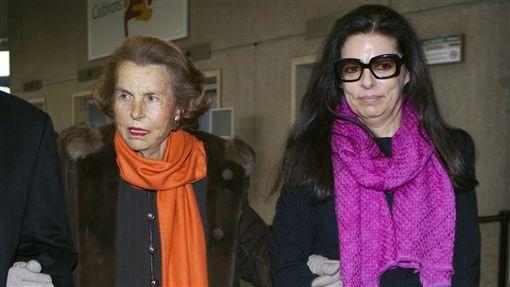 法國萊雅創辦人之女Liliane Bettencourt(圖/路透社/達志影像) ID-1064867