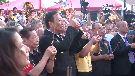 湄洲媽祖抵達台灣 郭台銘親自接駕
