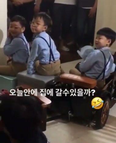 大韓民國萬歲 三胞胎 /翻攝自大韓民國萬歲 삼둥이 QQQ Taiwan Fan Club臉書