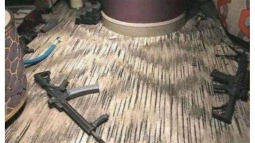 賭城59死大屠殺 槍手自斃照曝光(圖/翻攝自ABC NWEWS)