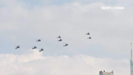 阿帕契首飛國慶操演 雷虎衝場越總統府 ID-1084537