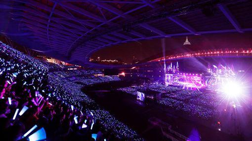 蒲月天,演唱會,南京,開唱,起秋,勃起,台語(圖/翻攝自五月天臉書)
