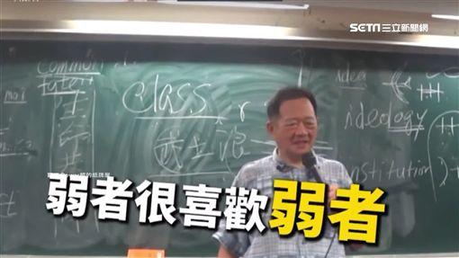 台大政治系教授李錫錕「弱者說」 ID-1087759