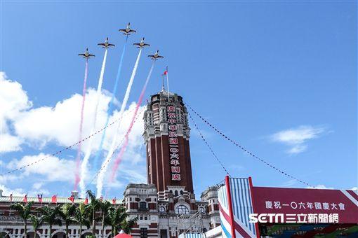 106年雙十國慶 記者林敬旻攝影