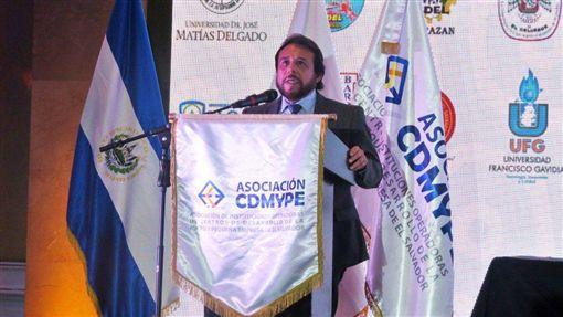 薩爾瓦多即將上任的副總統烏佑亞(Felix Ulloa)(圖/翻攝自推特)